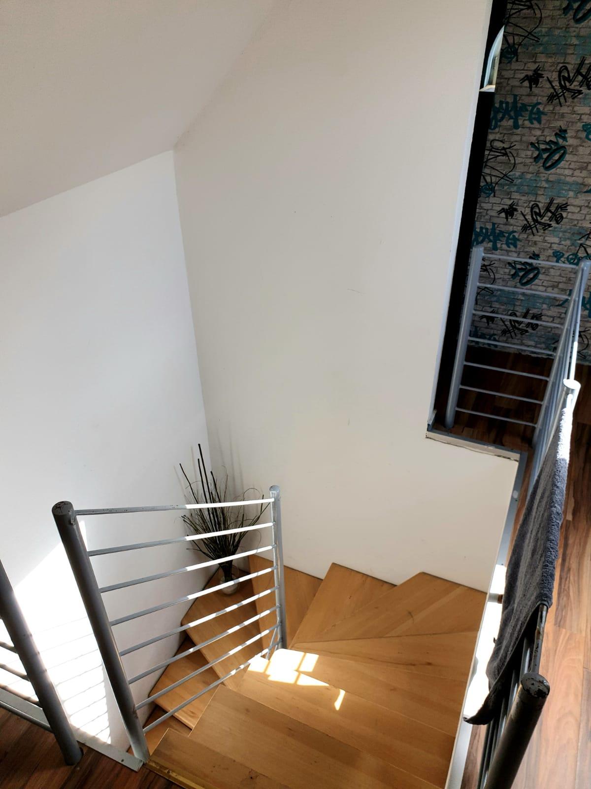 Flur Maisonette-Wohnung