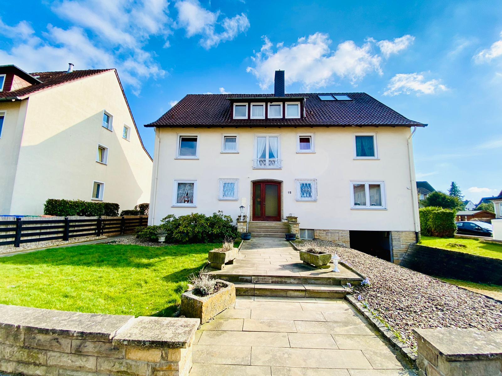 Mehrfamilienhaus mit Teilungserklärung in Zentrumslage von Bad Nenndorf mit angenehmer Umgebung.