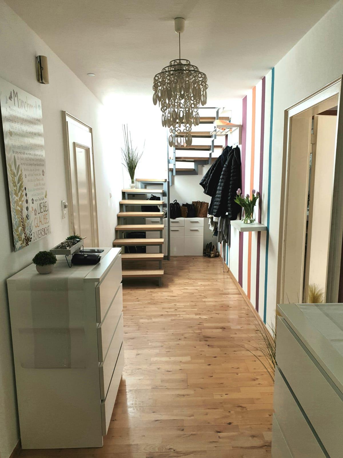 Flur Maisonette Wohnung