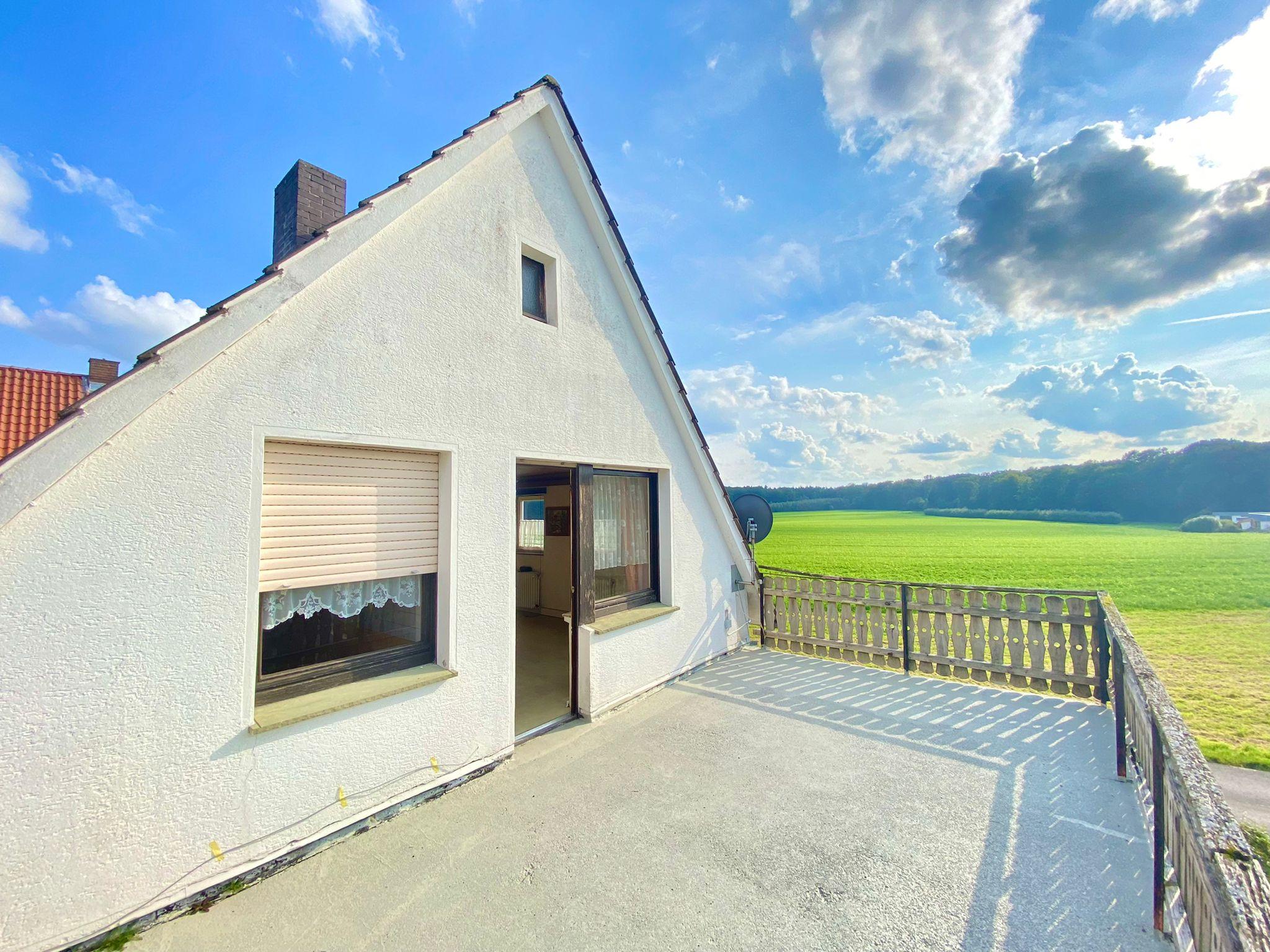 Dachgeschoss Terrasse